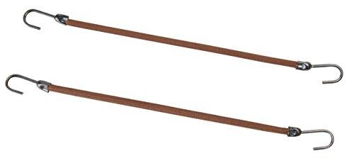 Efalock Professional Haarbinder, 10 cm, braun, 2er Pack, (2x 12 Stück)