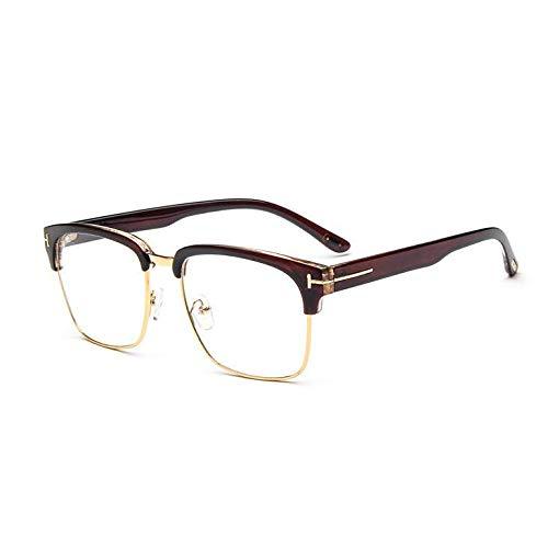 YMTP Frauen Brillen Rahmen Für Männer Vintage Metall T Platz Halb Gerahmt Design Hochwertige Brillen