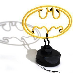 Yellow Batman Neon Light Bat Logo Signal Emblem Desk Table Night Mood Lamp DC Comics Official Merchandise