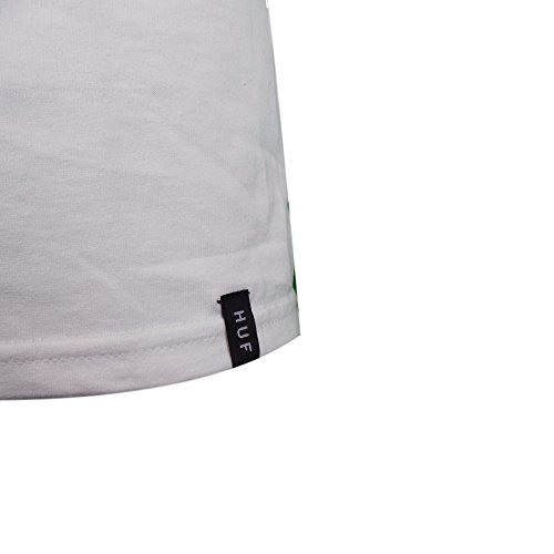 HUF BOX LOGO UV WHITE T-SHIRT White