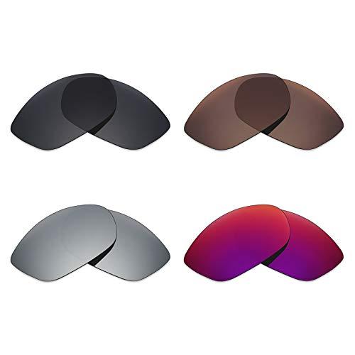 Mryok polarisierte Ersatzgläser für Costa Del Mar Fisch Sonnenbrille - Stealth Black/Bronze Brown/Silver Titanium/Midnight Sun