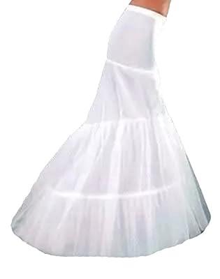 YSFS Women's Fishtail Petticoat for Mermaid Wedding Dress