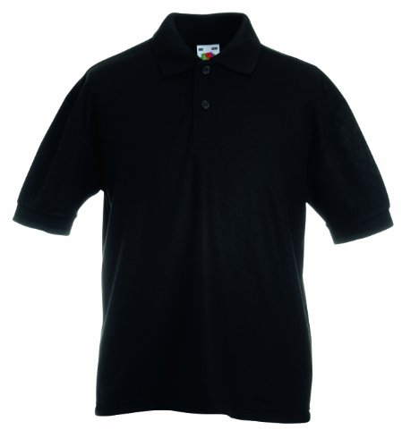 Fruit of the Loom Childrens/Kids Pique Polo Shirt