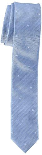 ESPRIT Collection Herren Krawatte 078EO2Q004, Blau (Light Blue 440), One Size (Herstellergröße: 1SIZE)