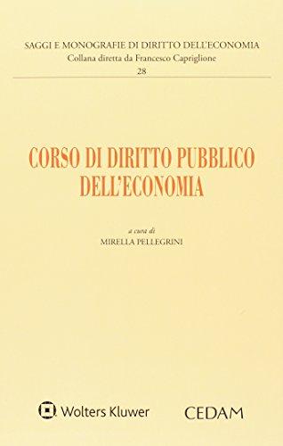 Corso di diritto pubblico dell'economia