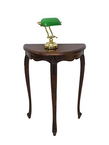 Wandtisch Konsolentisch Tisch Antik Stil Massivholz Nussbaum Farbton (4058)