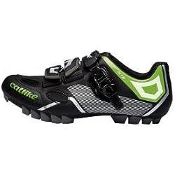CATLIKE Sirius MTB 2016, Zapatillas de Ciclismo de montaña Unisex Adulto, (Negro/Verde 000), 42 EU