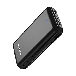 ALLPOWERS Power Bank 24000mAh External Battery with 2 Input & Output, Type-C Fast Charge Compatible with Smart Phones iphone, Samsung Galaxy