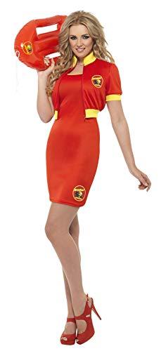 Smiffys, Damen Baywatch Strand Rettungsschwimmerin Kostüm, Kleid und Jacke, Größe: S, ()