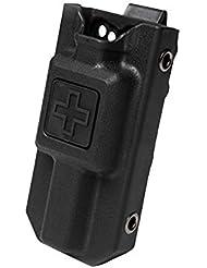 Leezo Hunting Application Tourniquet Case Molle Tourniquet Carrier Pouch Storage Bag Box Holder per Outdoor Sport Nero