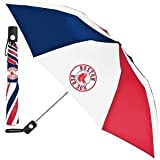 "Best Wincraft Soxes - Totes MLB Auto Fold 48"" Umbrella Boston Red Review"