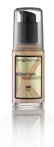 MaxFactor Second Skin Foundation, 60 Sand, 30 ml -