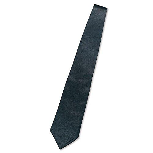 0 Gangster Krawatte, Schwarz, Herren Einheitsgröße ()