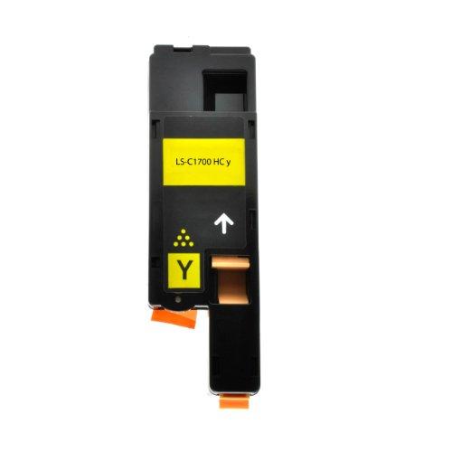 Toner für Epson C1700 C13S050611 yellow - Yellow, 1400 Seiten, kompatibel zu C13S050611