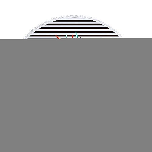 BBQBQ Gedruckter runder Strandtuch Yogamattenschal multifunction-01 150 * 150cm