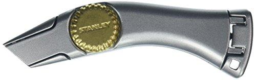 Stanley Messer Titan (feststehende Klinge, robustes Zinkdruckgehäuse, ergonomisches Design, InterLock) 1-10-550