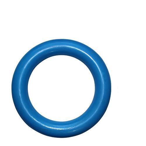 NaiCasy Hundespielzeug Molar O-Töne Pet Chew Spielzeug Spielzeug Naturkautschuk Ring Sting sicheres Spielzeug für alle Hunde-Versorgungsmaterialien Hunde blau, Haustier