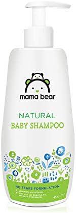 Amazon Brand - Mama Bear Natural Baby Shampoo - 400 ml