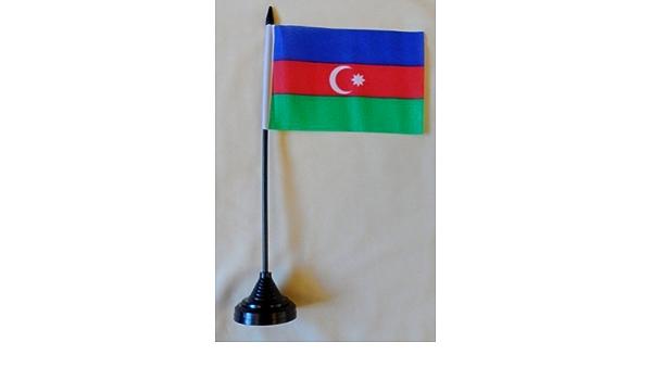 Aserbaidschan Tisch-Flagge