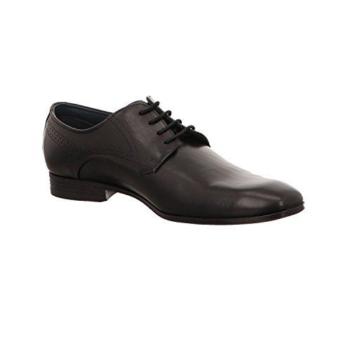 Bugatti U18011, Zapatos Negros Con Cordones Para Hombres