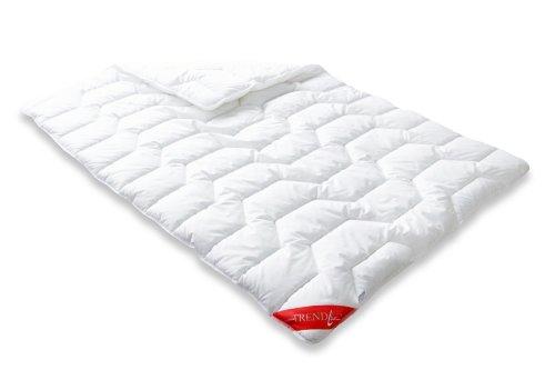 Badenia Bettcomfort Steppbett Trendline Basic kochfest Duo, 135 x 200 cm weiß