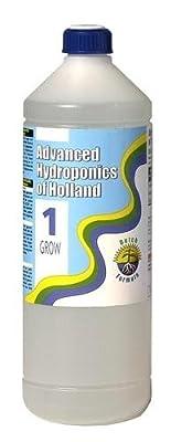 Advanced Hydroponics Grow, 1 Liter Wuchs Dünger Dutch Formula - kräftiges Blattgrün von Advanced Hydroponics - Du und dein Garten
