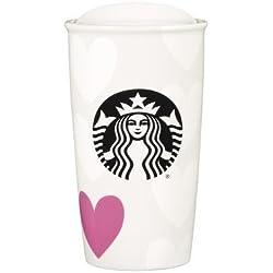 REGALO DE SAN VALENTÍN! Starbucks NBC 2015 vaso taza en forma de corazón, 10 OZ/296 ML, edición limitada, nuevo