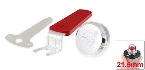 Datei Elektrische Schranktür 5,8cm Dia. Head Metall Security Lock w Lange Grip Key