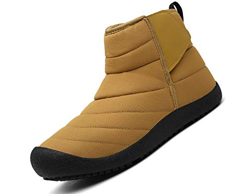 SINOES Damen 019 Klassische Stiefeletten Hohe Stiefel Chelsea Boots Walkingschuhe Braun 39 EU