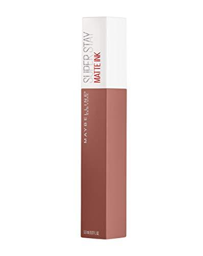 Maybelline New York Superstay Matte Ink Collezione Unnudes Rossetto, Matte, Liquido, Tinta Labbra a Lunga Tenuta, 65 Seductress