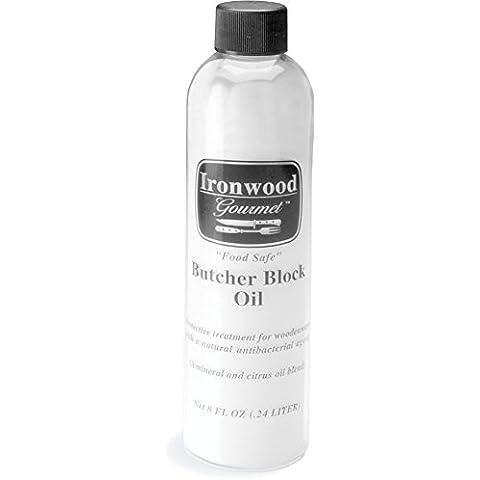Ironwood Gourmet Butcher Block Mineral Oil Anti-Bacterial