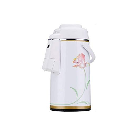 JOLLY Tragbarer Kaffee-PlungerDoppelwand-Vakuumglasliner mit Kindersicherung Perfekt für den Heimgebrauch