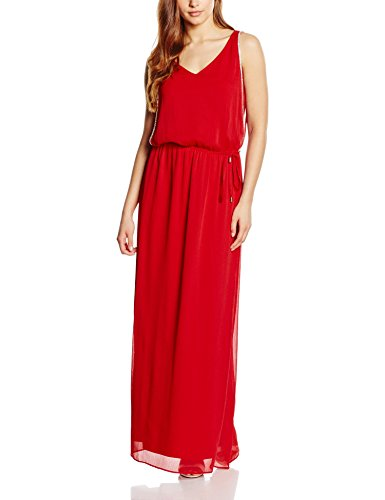 s.Oliver BLACK LABEL Damen Kleid 29.605.81.8165, Rot (Bloody Mary 3350), 42