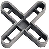 Rubi 2905 Joint Crosses, Grey, 10 mm, Set of 50 Pieces