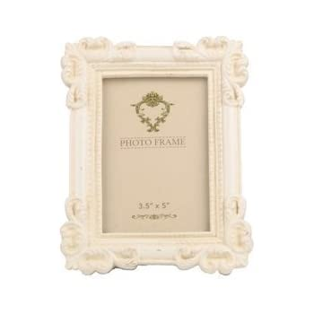 Shabby Chic Vintage Photo Frame - Cream Portrait Frame
