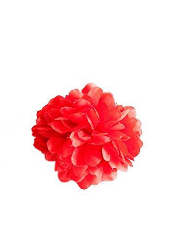 La Senorita Haarblume, Haarspange, Haarklemme, Haarclip - Haarschmuck Rot