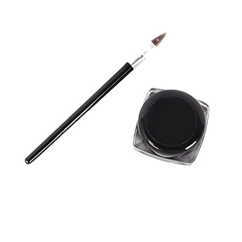Etosell Eye-liner Waterproof Gel maquillage cosmetique + brosse cosmetiques C37