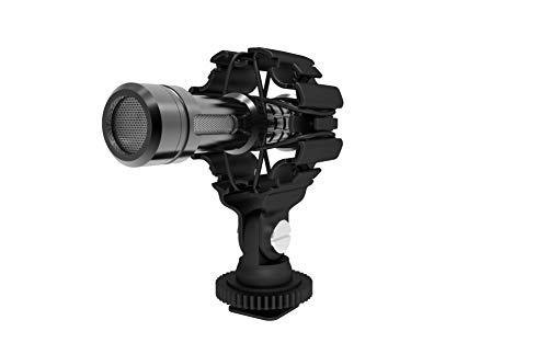 DREAMGRIP - Supporto sospeso per microfono e video per RODE, Sennheiser, MOVO, e altri microfoni con diametro del tubo di 0,4-2,5 cm, adatto per smartphone, Gimbals, stabilizzatori, DSLR
