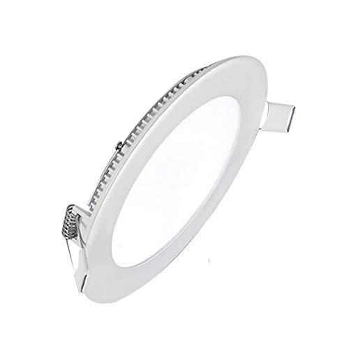 Sprsk LED-Einbauleuchte Ultradünne und einfach zu installierende Einbauleuchte Einfache 3-24-W-Deckenleuchte mit optionalem ETL- und Energy Star-Zertifikat, dreifarbig Geeignet for Badezimmerflure im -