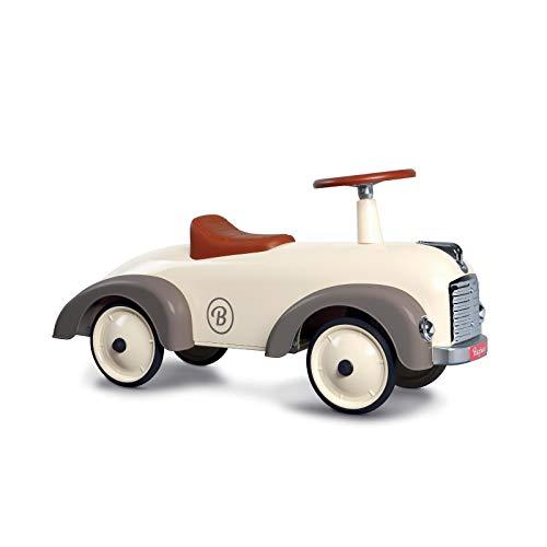 Baghera Bombero Speedster Crema Blanco | Vehículo de Diapositivas para niños: numerosos Detalles realistas | Coche Deslizante Retro para niños a Partir de 1 año.
