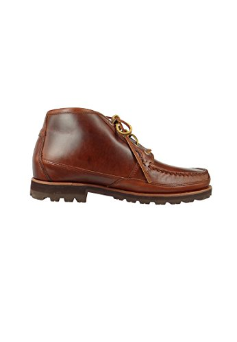 Sebago Chaussures Homme B710042 Vershire Chukka Brown brasserie Oiled Waxy brown