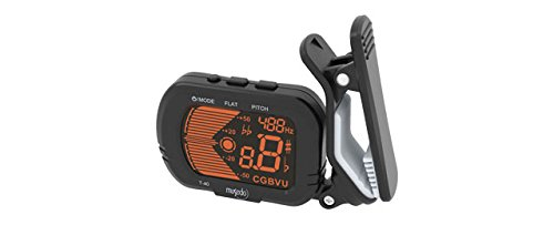 Pandawill Musedo T-40 Digital Lcd Guitar Bass Violin Clip-On Automatic Chromatic Tuner