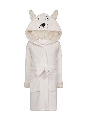 Nette-Kinder-Neuheit-Spa-Fleece-Weich-Warm-Bad-Robe-Bademantel
