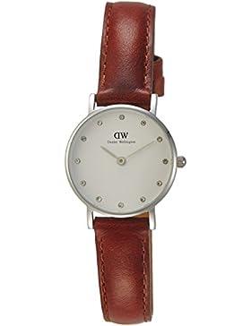 Daniel Wellington Classy Damen-Armbanduhr Analog Quarz Leder - DW00100067