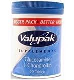 Valupak Glucosamine & Chondroitin Tablets 90/Pk