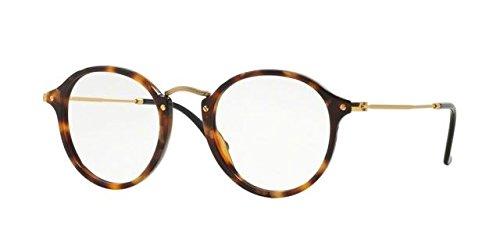 Ray-Ban Herren 2447V Brillengestelle, Schwarz (Negro), 47