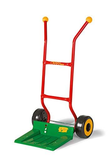 Rolly Toys rollyCarry (Sackkarre für Kinder ab 2,5 Jahren, belastbar bis 50 kg, Farbe rot/grün) 409075
