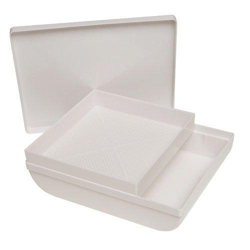 Oryx 5150700 - Harinador de plástico, Color Blanco, 30x24x8 cm