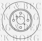 Borg & Beck BBD4604 Bremsscheiben (Paar)