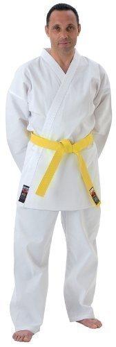 Cimac Giko Karateanzug mit Gummibund und weißem Gürtel